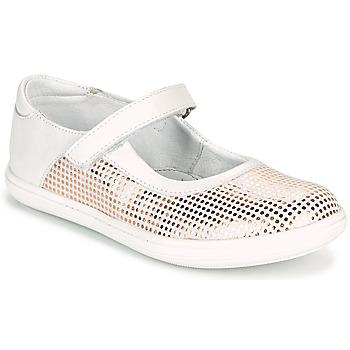 Schoenen Meisjes Ballerina's GBB PLACIDA Wit