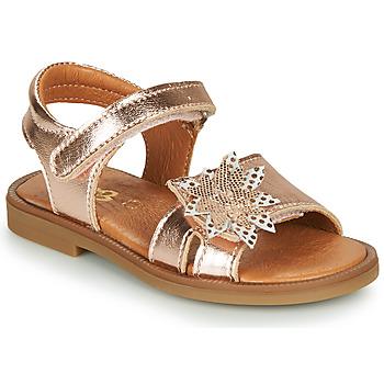 Schoenen Meisjes Sandalen / Open schoenen GBB UPPLA Roze / Gold