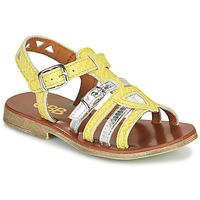 Schoenen Meisjes Sandalen / Open schoenen GBB FANNI Geel
