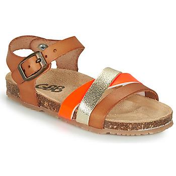 Schoenen Meisjes Sandalen / Open schoenen GBB LULUNE Brown