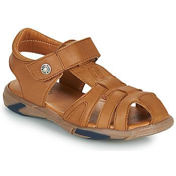 Schoenen Jongens Sandalen / Open schoenen GBB LUCA Brown