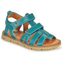 Schoenen Jongens Sandalen / Open schoenen GBB JULIO Blauw