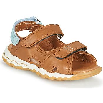 Schoenen Jongens Sandalen / Open schoenen GBB DIMOU Brown