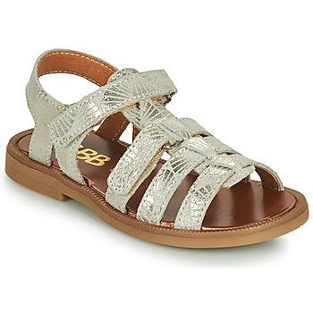 Schoenen Meisjes Sandalen / Open schoenen GBB KATAGAMI Beige