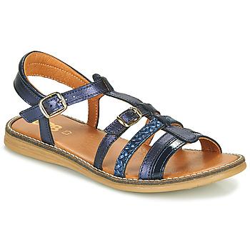 Schoenen Meisjes Sandalen / Open schoenen GBB OLALA Blauw