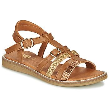 Schoenen Meisjes Sandalen / Open schoenen GBB OLALA Brown
