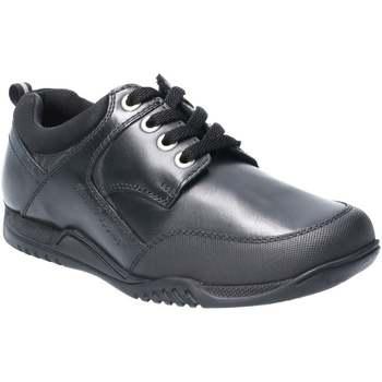 Schoenen Jongens Derby Hush puppies  Zwart