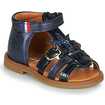 Schoenen Meisjes Sandalen / Open schoenen GBB PAULETTE Marine