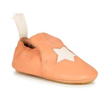 Schoenen Kinderen Sloffen Easy Peasy BLUBLU ETOILE MOU PEACH-BLANC MOU/PATIN