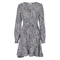 Textiel Dames Korte jurken Betty London NAZUR Marine / Wit