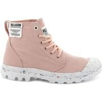 Schoenen Dames Hoge sneakers Palladium Manufacture Pampa HI Rose