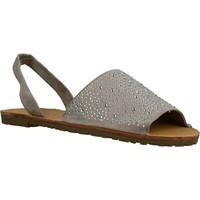 Schoenen Dames Sandalen / Open schoenen Sprox 280723 Grijs