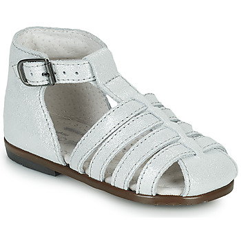 Schoenen Meisjes Sandalen / Open schoenen Little Mary JULES Zilver