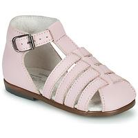 Schoenen Meisjes Sandalen / Open schoenen Little Mary JULES Roze