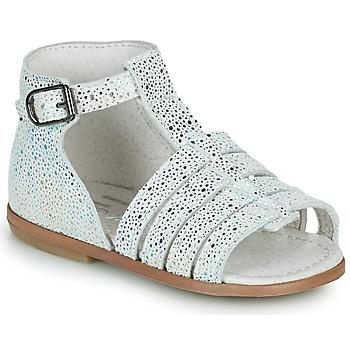 Schoenen Meisjes Sandalen / Open schoenen Little Mary HOSMOSE Grijs