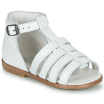 Schoenen Meisjes Sandalen / Open schoenen Little Mary HOSMOSE Wit