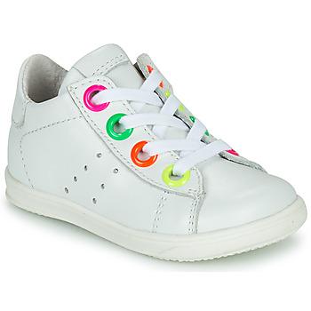 Schoenen Meisjes Hoge sneakers Little Mary DOROTHE Wit