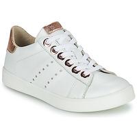 Schoenen Meisjes Lage sneakers Little Mary LAURENE Wit