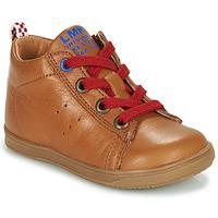 Schoenen Jongens Hoge sneakers Little Mary LEON Brown