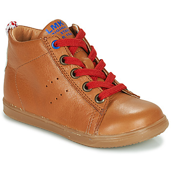 Schoenen Jongens Hoge sneakers Little Mary LEON Brown