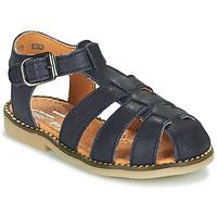 Schoenen Jongens Sandalen / Open schoenen Little Mary BREHAT Blauw