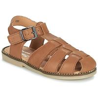 Schoenen Jongens Sandalen / Open schoenen Little Mary BREHAT Brown