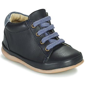 Schoenen Meisjes Hoge sneakers Little Mary GAMBARDE Blauw