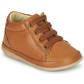 Schoenen Meisjes Hoge sneakers Little Mary GAMBARDE Brown