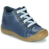 Schoenen Kinderen Hoge sneakers Little Mary GOOD Blauw
