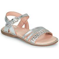 Schoenen Meisjes Sandalen / Open schoenen Little Mary LIME Zilver