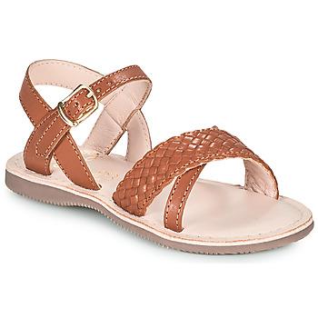 Schoenen Meisjes Sandalen / Open schoenen Little Mary LIANE Brown