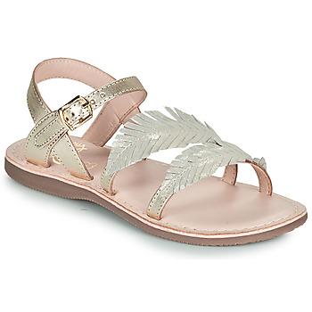 Schoenen Meisjes Sandalen / Open schoenen Little Mary LORETTE Goud