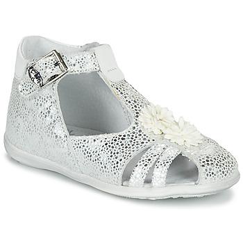 Schoenen Meisjes Sandalen / Open schoenen Little Mary GLADYS Zilver