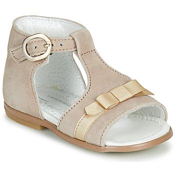 Schoenen Meisjes Sandalen / Open schoenen Little Mary GAELLE Beige