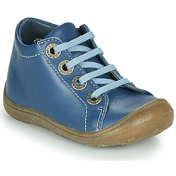 Schoenen Kinderen Hoge sneakers Little Mary GOOD ! Blauw