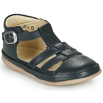 Schoenen Kinderen Sandalen / Open schoenen Little Mary LAIBA Blauw