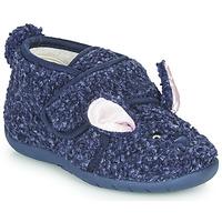 Schoenen Kinderen Sloffen Little Mary LAPINVELCRO Blauw