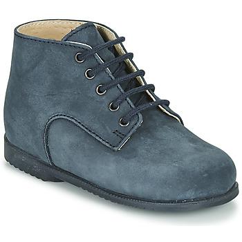 Schoenen Jongens Laarzen Little Mary MILOT Blauw