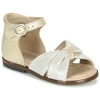 Schoenen Meisjes Sandalen / Open schoenen Little Mary DIANA Goud