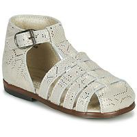 Schoenen Meisjes Sandalen / Open schoenen Little Mary JULES Goud