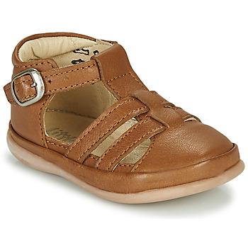 Schoenen Kinderen Sandalen / Open schoenen Little Mary LAIBA Brown