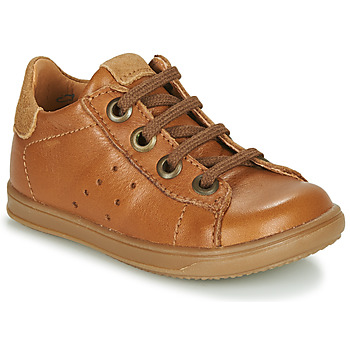 Schoenen Jongens Lage sneakers Little Mary DUSTIN Cognac