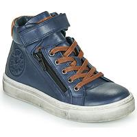 Schoenen Jongens Hoge sneakers Little Mary FIRST Blauw
