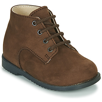 Schoenen Jongens Laarzen Little Mary MILOT Brown