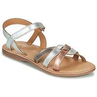 Schoenen Meisjes Sandalen / Open schoenen Little Mary LIGHT Zilver / Brons / Roze / Gold