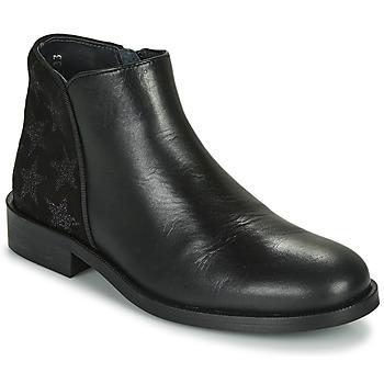 Schoenen Meisjes Laarzen Little Mary CAMERON Zwart