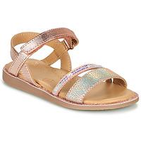 Schoenen Meisjes Sandalen / Open schoenen Little Mary DOLERON Roze