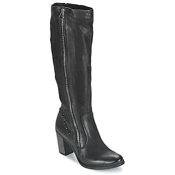 Schoenen Dames Hoge laarzen Dream in Green KARINA Zwart