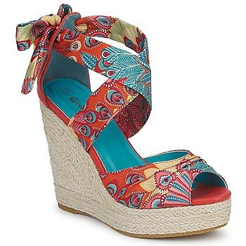 Schoenen Dames Sandalen / Open schoenen Moony Mood FIRNIL Multikleuren