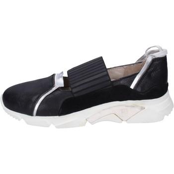 Schoenen Dames Instappers Moma BK123 Noir